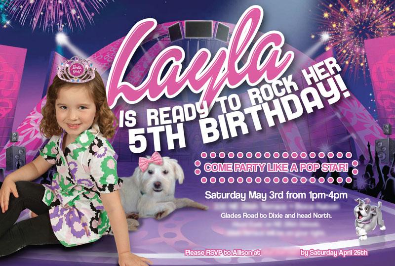 Pop Star Birthday