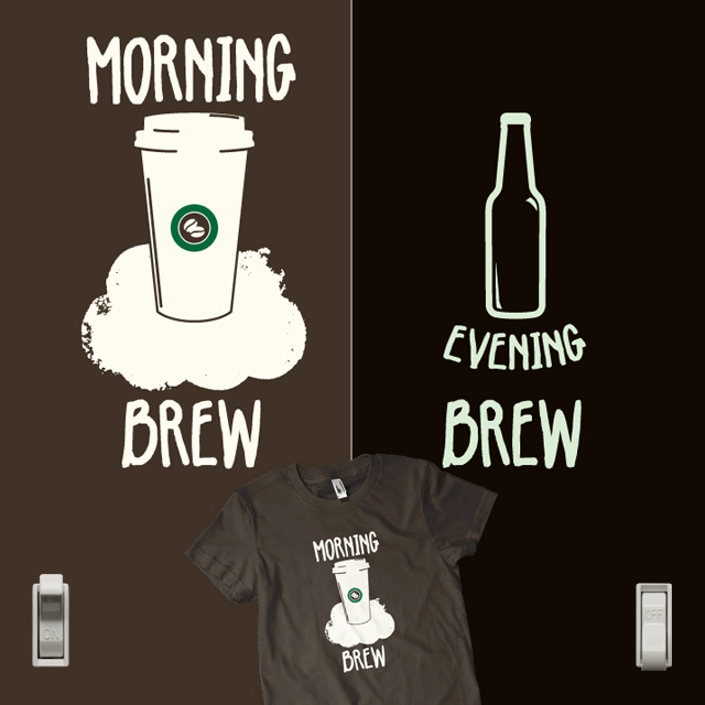 Daily Brew (glow-in-the-dark)