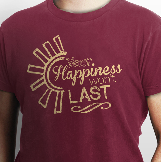 Happiness Won't Last