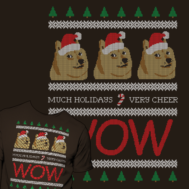 Holiday Doge Sweater