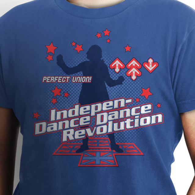 funny dance shirt dance revolution ddr 4th of july independence day