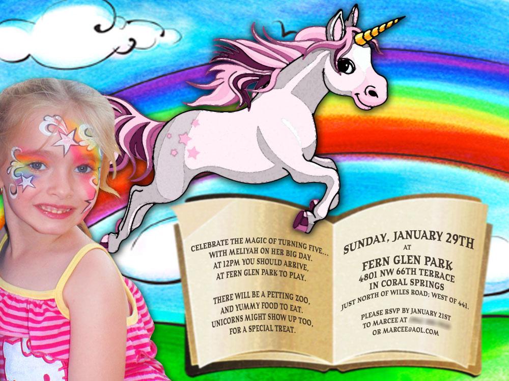 Unicorn Birthday