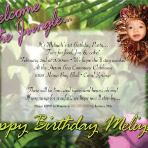 Jungle Birthday