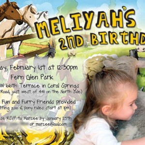 Petting Zoo Birthday