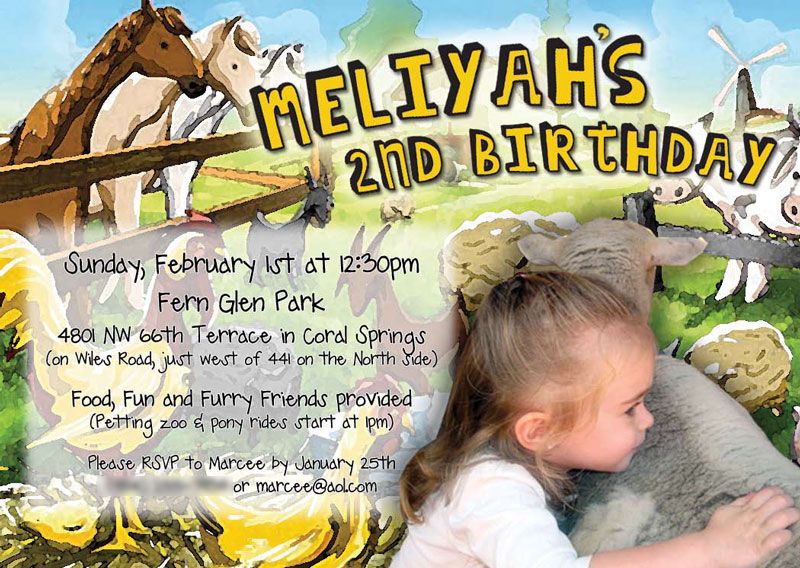 Petting Zoo Birthday