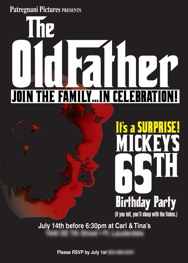 Godfather-Themed Surprise Party