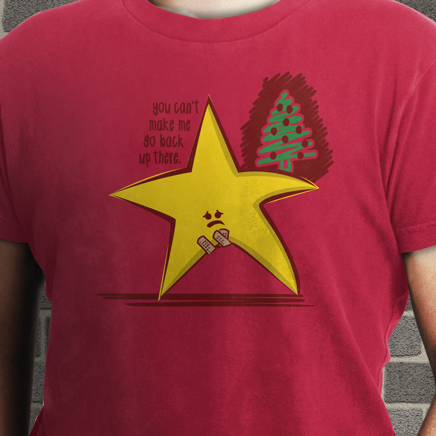 Sad Christmas Star