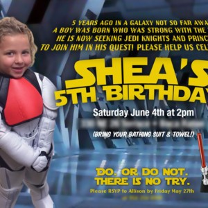 Star Wars Birthday