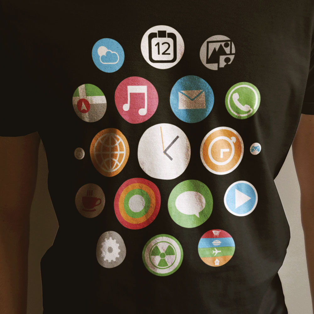 apple watch costume shirt