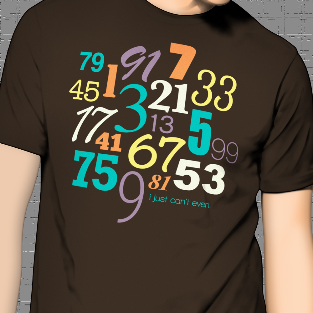 math geek shirt even odd numbers