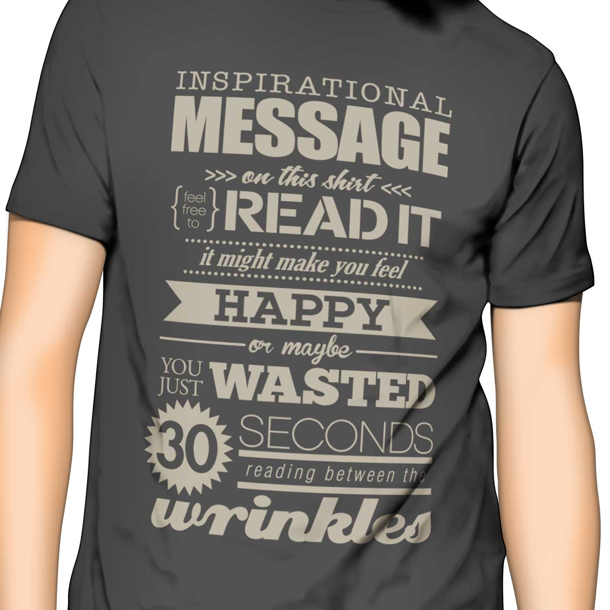 inspirational quote funny shirt