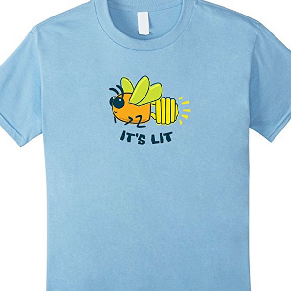 party firefly bug shirt