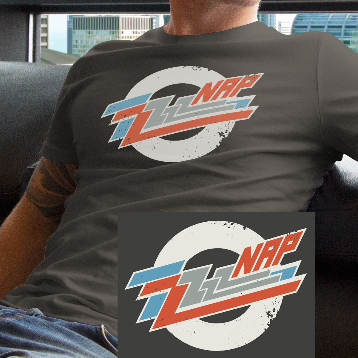 ZZ Top funny band parody nap shirt