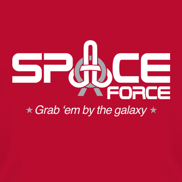 space force trump funny shirt