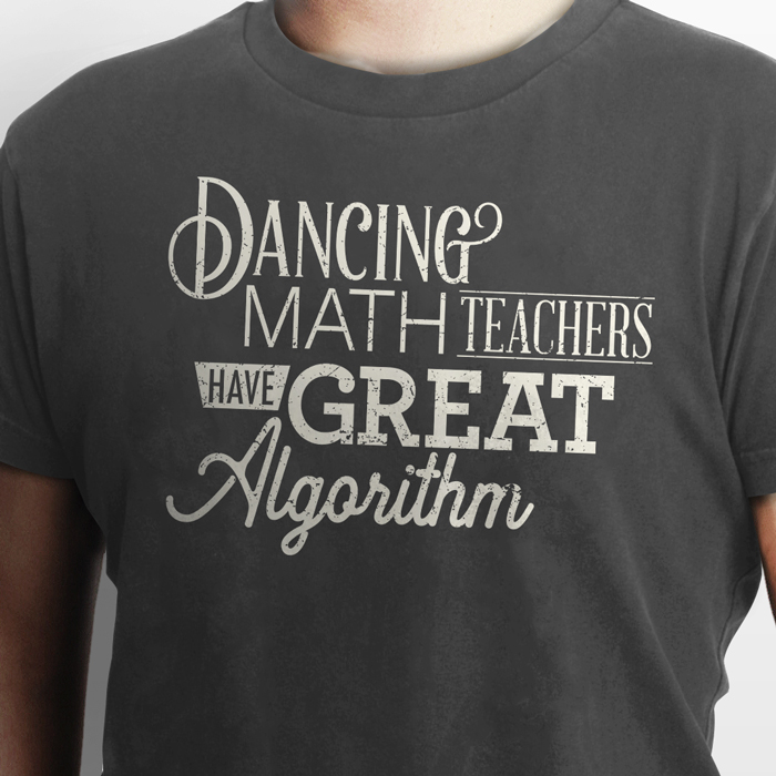 Funny Math Teacher Pun Shirt